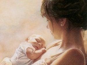 das Leben einer Mutter verändert sich stark