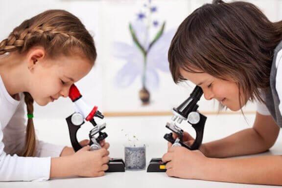 Experimente für Kinder können ihre Wissbegierde fördern