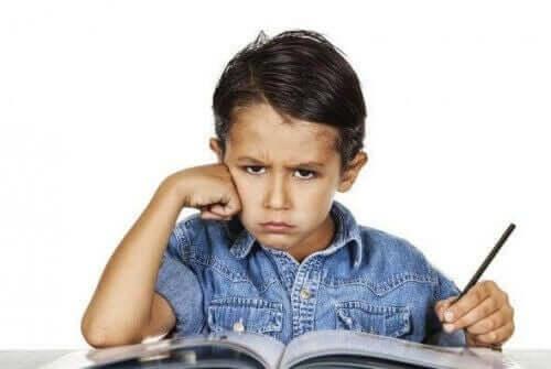 Es gibt verschiedene Gründe, warum ein Kind nicht lernen möchte