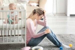 Das Wochenbett kann Depressionen zur Folge haben