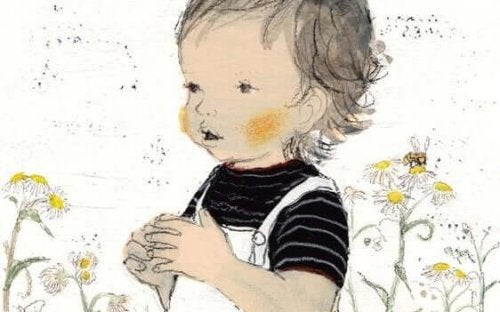 Sanfte Erziehung: Zeichnung eines Kindes von Komako Sakai