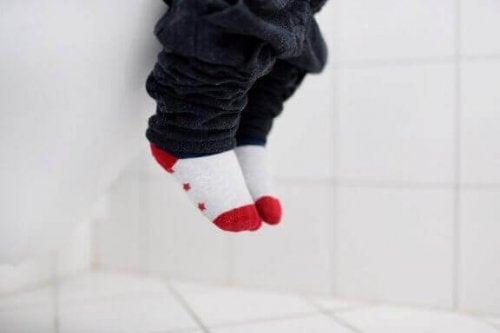 Wenn Kinder länger unter Durchfall leiden, kann dies auf eine Malabsorption hindeuten