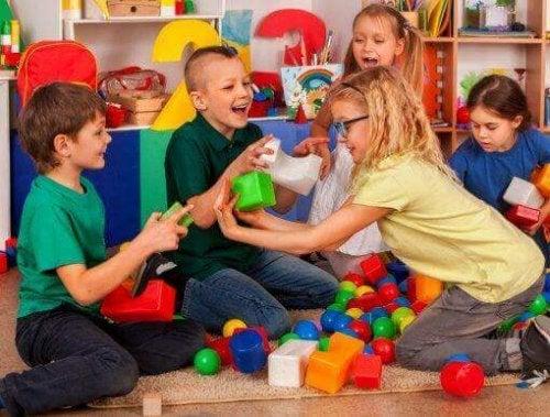 Die Vermittlung sozialer Kompetenzen an Kinder