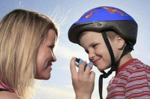 Kann ein Kind mit Asthma Sport treiben?
