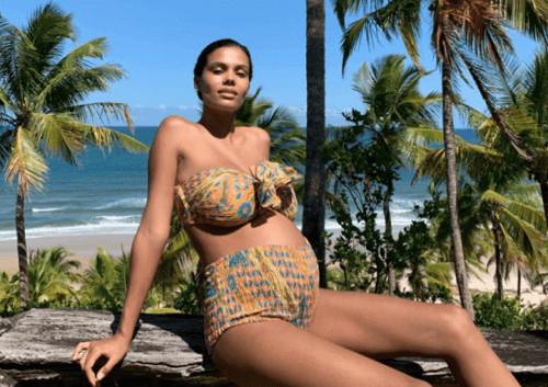 Tina Kunakey und ihr Ehemann durften sich 2019 über Promi-Nachwuchs freuen