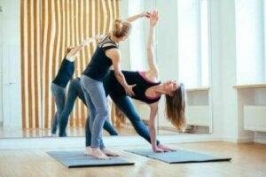 Yoga-Übungen - Unterricht