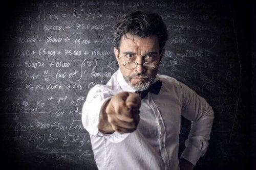 Schlechte Lehrer und ihre Eigenschaften