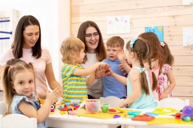 Sozialisation - Mütter mit Kindern