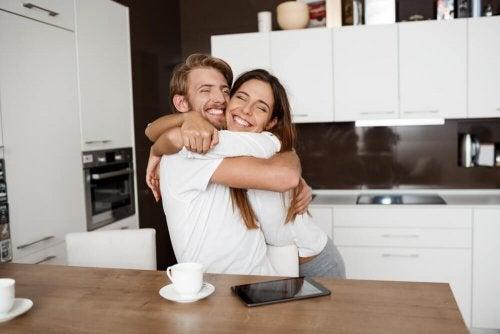 Fruchtbarkeit - glückliches Paar
