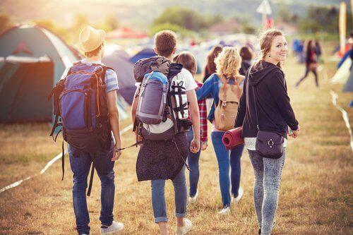 Jugendliche - gemeinsame Aktivität