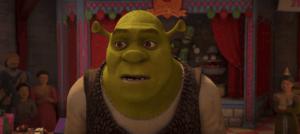 Shrek-grün mit wundervollen Botschaften