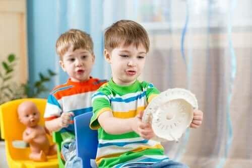 Improvisationstheater, eine Achtsamkeitsübung für Kinder
