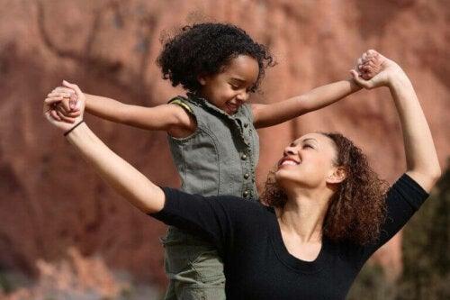 Die Mutterschaft - Mutter mit Kind