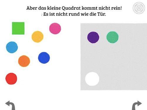 Die vier kleinen Ecken - Quadrat und Kreise