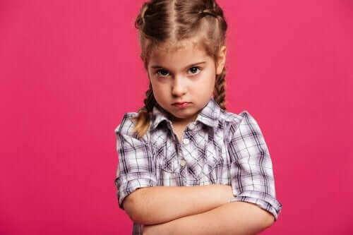 wütend - Mädchen
