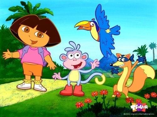 Fernsehserien für Kinder - Dora