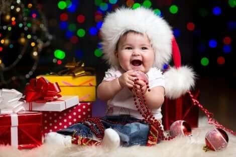 Weihnachten: Verkleidetes Baby