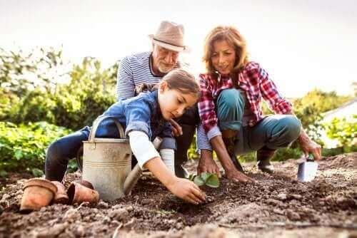 Die Rolle der Großeltern im Leben unserer Kinder