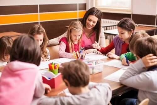 erweiterter Lehrplan - Schüler mit Lehrer