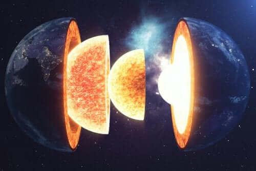 Die Struktur der Erde ist da, was unseren Planeten wirklich so besonders macht. Die einzigartige Formation unseres Planeten besteht aus 4 Schichten mit ihren Unterschichten, die alle miteinander verbunden sind.
