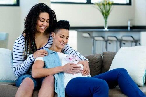 Eizellspende - lesbisches Paar