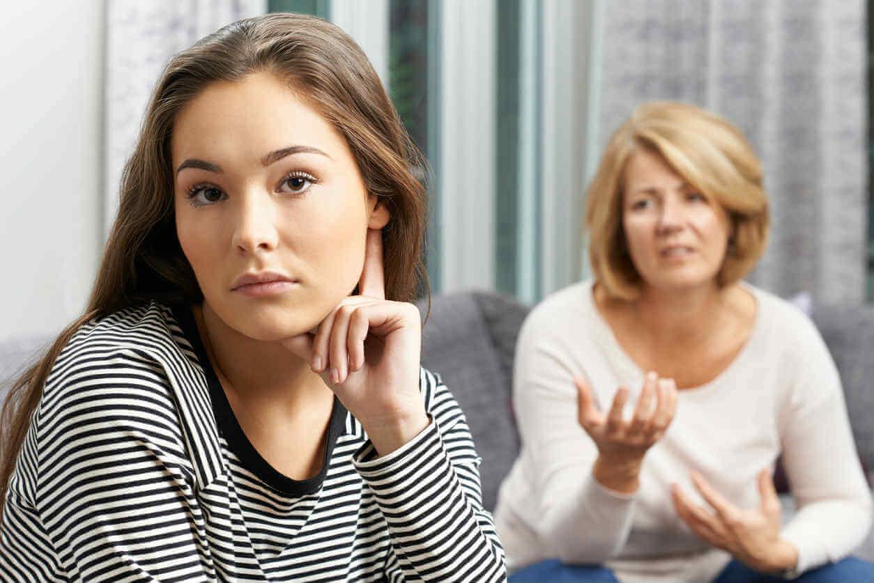 gesetzliche Vertretung - Mutter und Tochter
