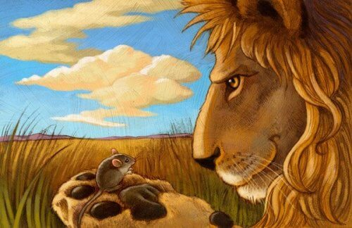 Die Moral der Geschichte über den Löwen und die Maus ist, wie wichtig es ist, andere gut zu behandeln, weil man nie weiß, wann man ihre Hilfe braucht.