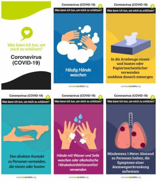 Information: Wie schütze ich mich vor Coronavirus