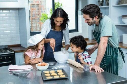 4 Dinge, die du mit der Familie zu Hause tun kannst