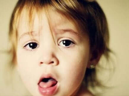 Krankes Kind mit Husten oder Fieber