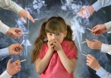 Die Auswirkungen von Tabak auf Kinder