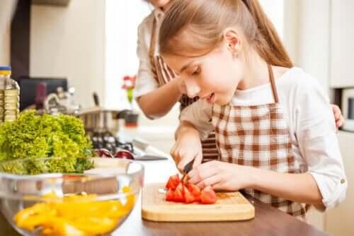 Kochen mit Jugendlichen