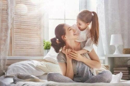 Unsere positive Lebenseinstellung kann sich auf unsere Kinder übertragen