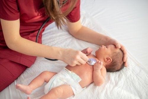 Herzgeräusche bei Babys